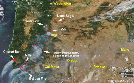 Incendios Parques Naturales