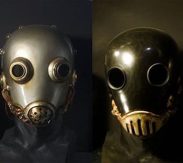 Máscara del personaje del cómic Hell Boy, Karl Ruprecht Kroenen.