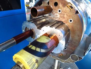 Detalle modelo real en LHC.
