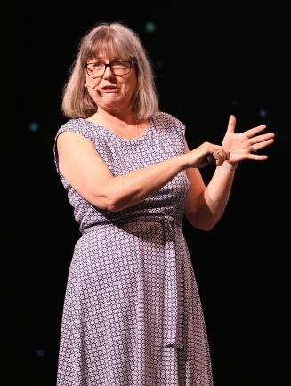 Donna Strickland.