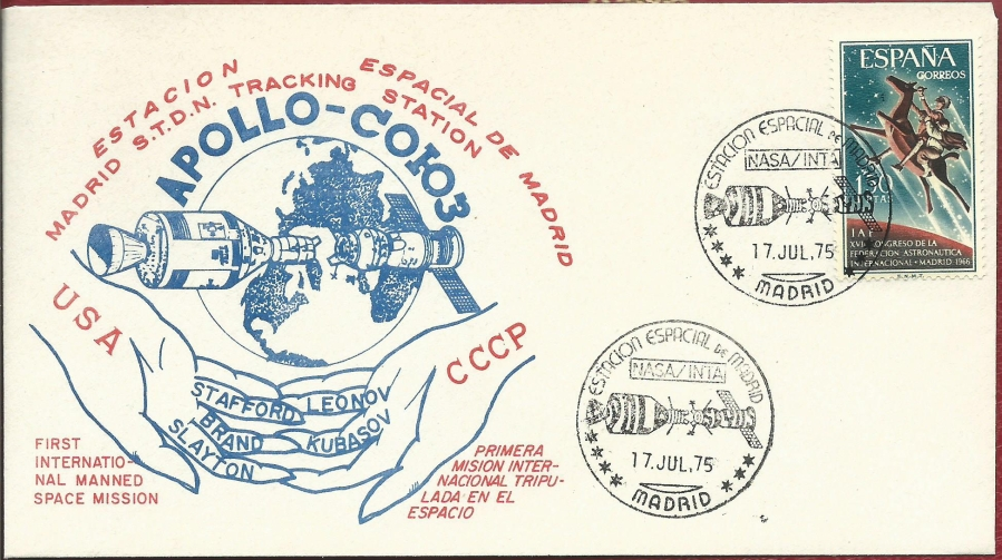 XLV aniversario del Apolo-Soyuz. La participación deTelefónica.
